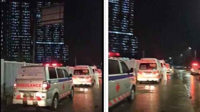 Antrean ke Wisma Atlet Capai 2 KM, Ini Pengakuan Mengejutkan Sopir Ambulans Covid-19