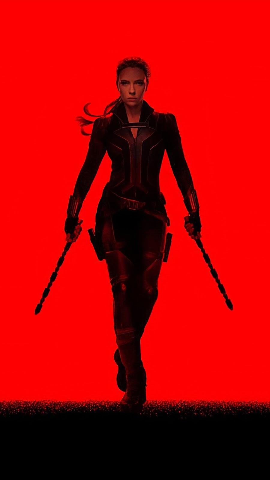 Black Widow 2020 Mobile Wallpaper
