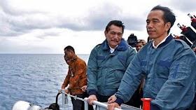 Setelah Kunjungan Presiden Jokowi di Natuna, Kapal Ikan Asing masih terdeteksi