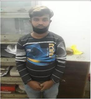 कानपुर: थाना नवाबगंज पुलिस व एसटीएफ संयुक्त टीम द्वारा ईनामिया व वांछित मादक पदार्थ तस्कर को गिरफ्तार किया