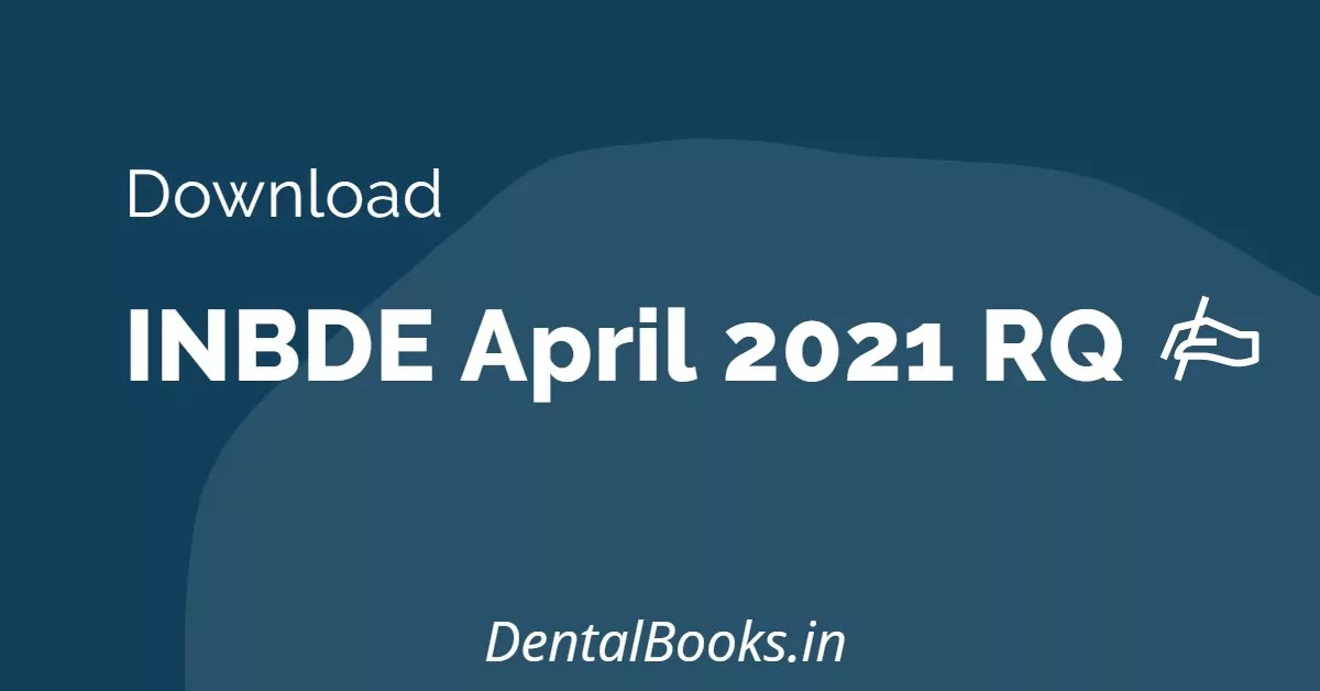 Download INBDE 2021 RQ