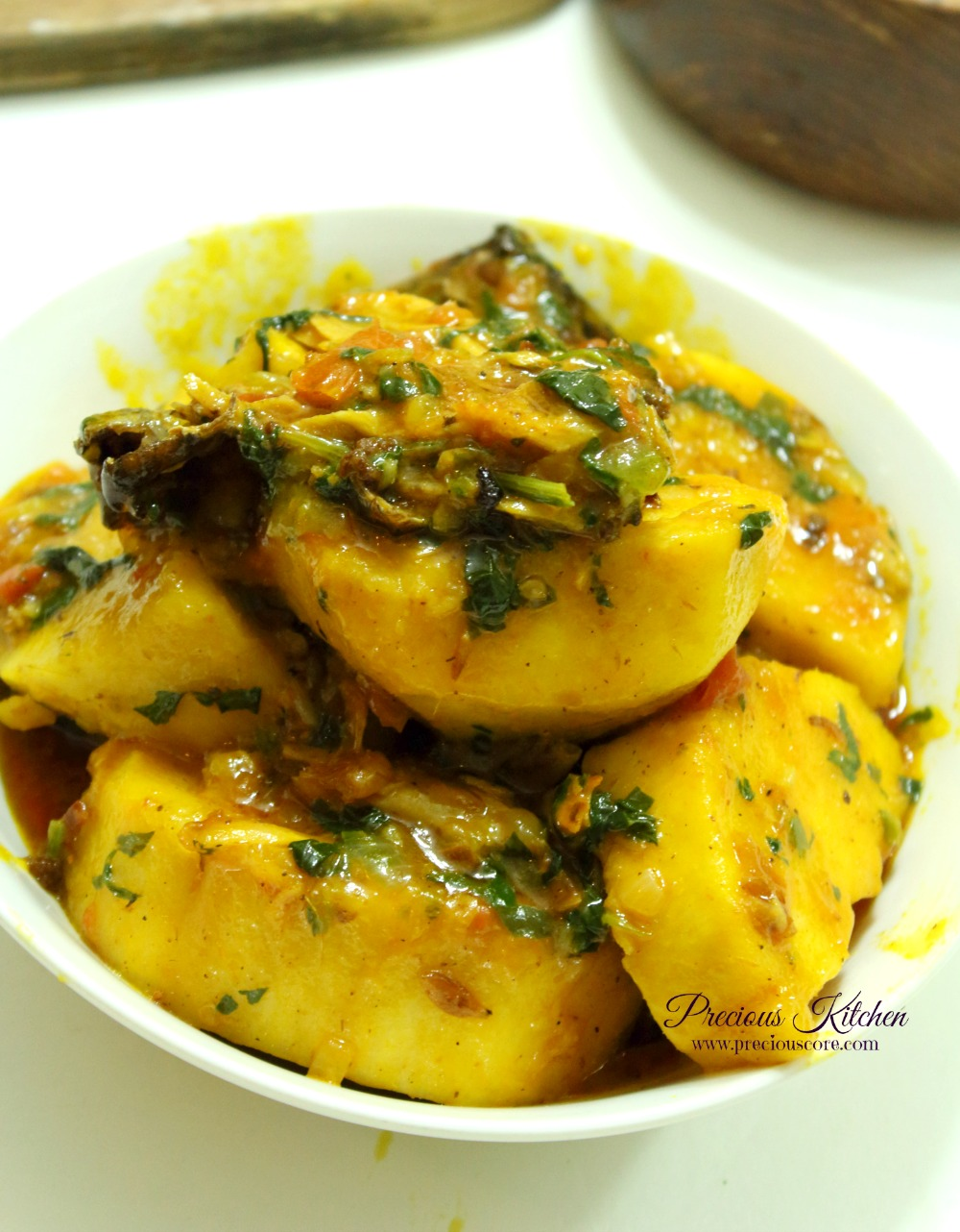 How To Prepare Vegetable Yam Porridge | Fabwoman |Yam Porridge Recipe