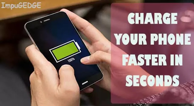 Hack 7 Charge your phone faster