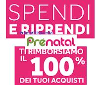 """Prenatal """"Spendi e Riprendi 2021"""" : ricevi in buoni sconto il 100% di quanto hai speso"""