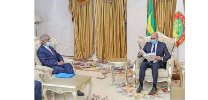 Mauritanie : Le Président de la République reçoit un message écrit du président sahraoui