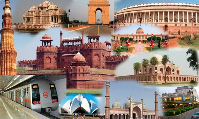 Latest Top places to visit in Delhi