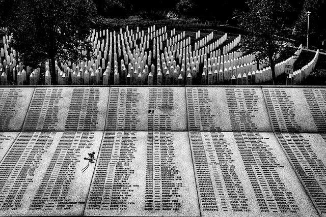 Potočari, Srebrenica, Bosnia, Memoriale