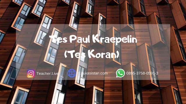 Tes Pauli Kraepelin