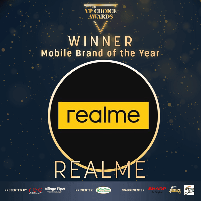 realme is the Mobile Brand of the Year