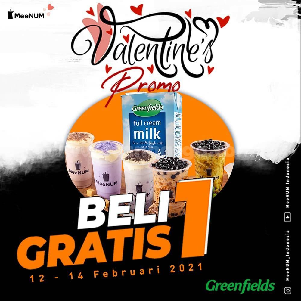 MeeNUM Spesial Promo Valentine's! BELI 1 GRATIS 1