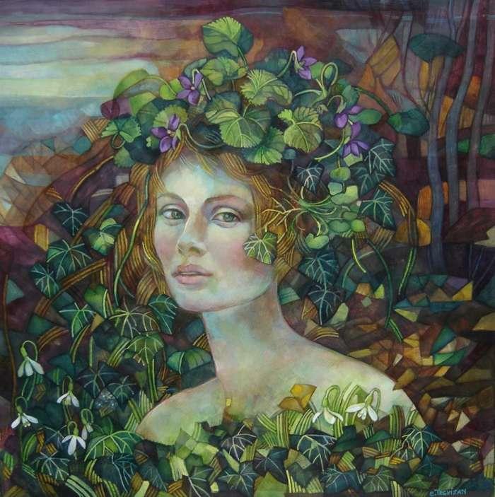 Итальянский художник. Elisabetta Trevisan