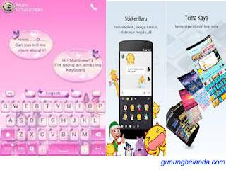Kika Keyboard  Free Emoji Stiker, dan GIF