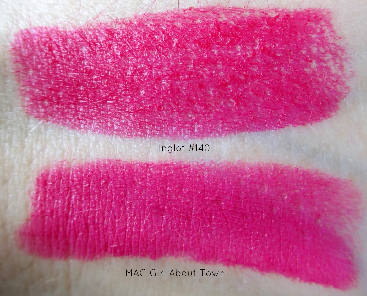 Oh Yeah! MAC Girl About Town Dupes ;)   Mac Girl About Town Dupe