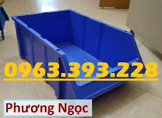 Kệ dụng cụ xếp chồng, khay nhựa đựng ốc vít, khay đựng linh kiện, khay vát đầu 69e65d519eb27cec25a3