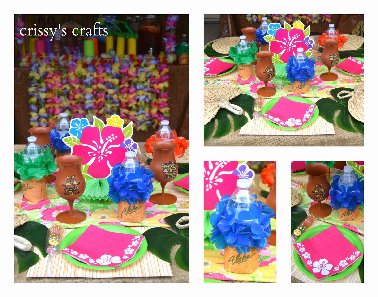 Crissy S Crafts Luau Party 2014