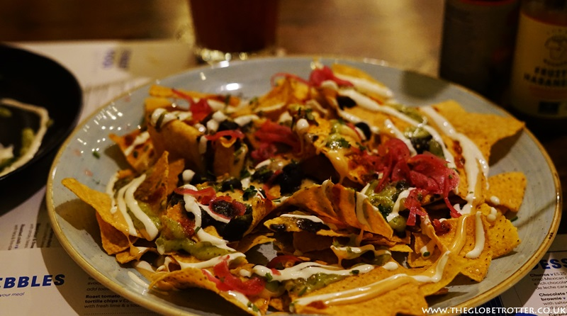 Veggie nachos at Wahaca Shoreditch