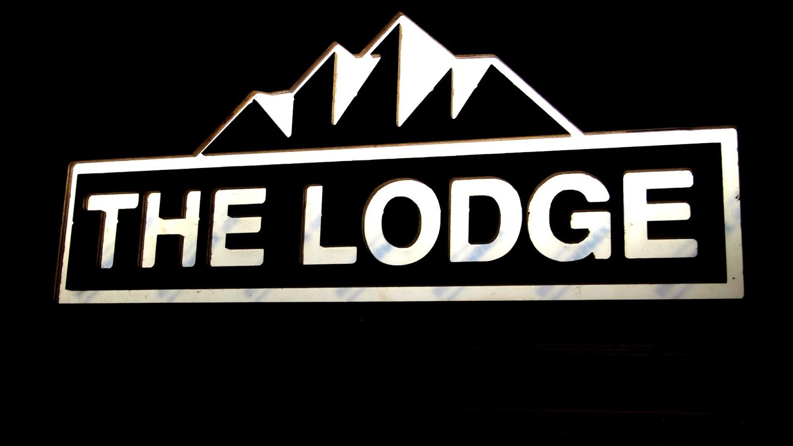 The Lodge Clapham sign