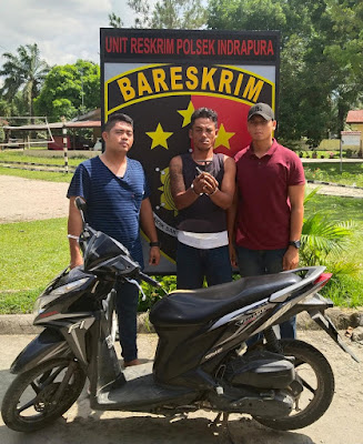 Polsek Indrapura Ungkap Kasus Curas, 1 TSK dan BB Diboyong ke Polsek