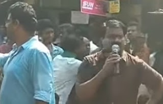 Seeman Live Speech to Chennai Memes Facebook Page | Alanganallur Jallikattu Protest