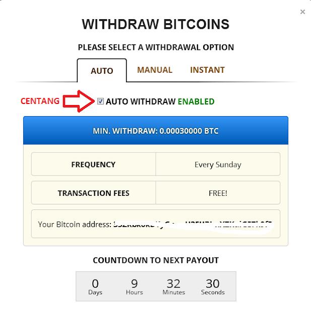 4 - Cara mudah mendapatkan bitcoin gratis