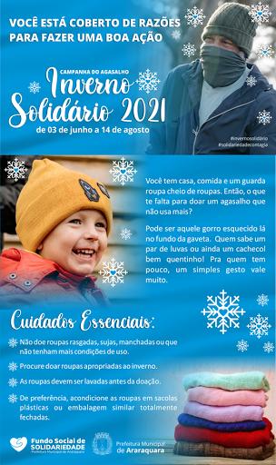 Campanha do Agasalho Inverno Solidário