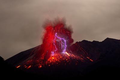 Volcanic eruption by Marc Szeglat on Unsplash