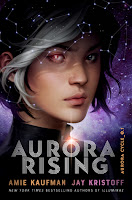 Aurora Rising by Kaufman and Kristoff book cover and review