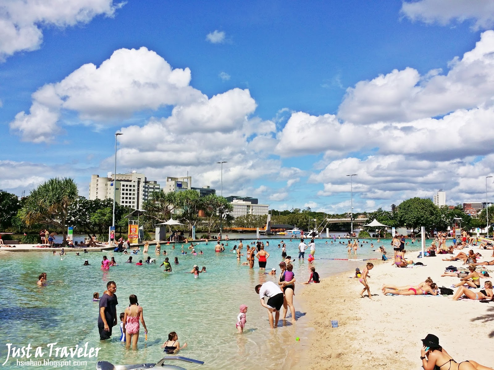 布里斯本-景點-推薦-南岸公園-旅遊-自由行-Brisbane-Attraction-South-Bank-Parklands-Tourist-destination