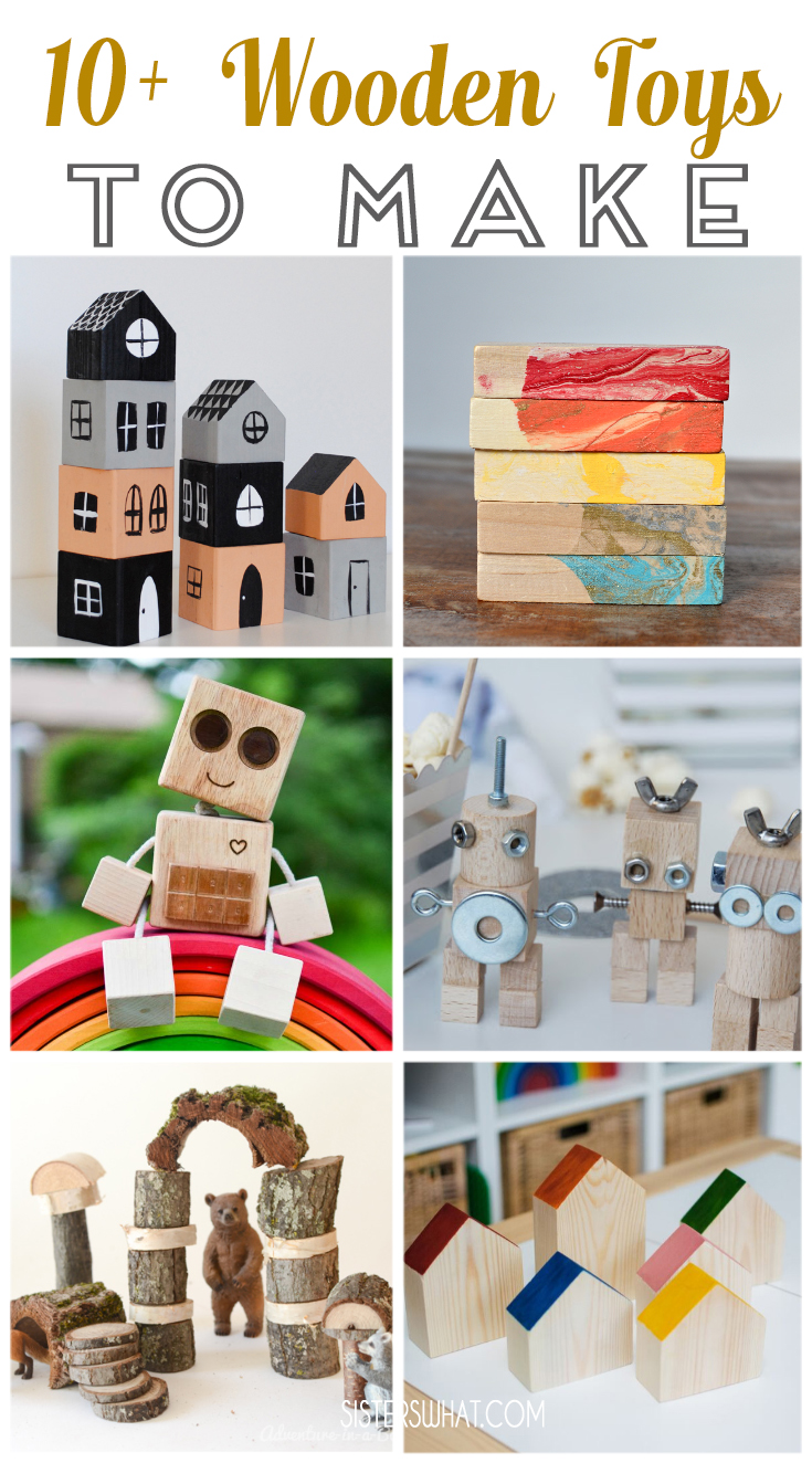 10 wooden toys for kids to make