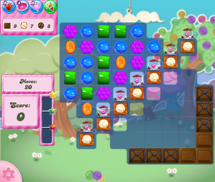 Candy Crush Saga level 2788