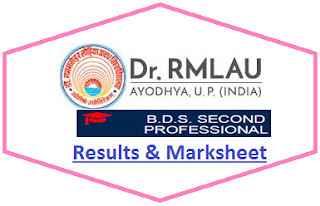 Avadh University BDS 2nd Prof Result 2021