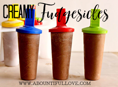 Creamy Homemade Fudgesicle recipes