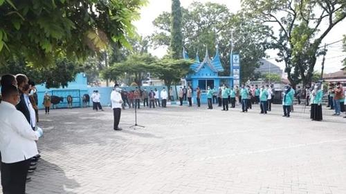Idul Adha 1442 H, 42 Ekor Sapi dan 30 Ekor Kambing ibagikan Perumda Air Minum Kota Padang ke Warga Kota