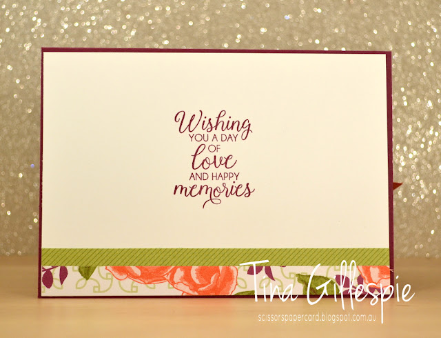 scissorspapercard, Stampin' Up!, Better Together, Beautiful Bouquet, Petal Garden DSP, Blends