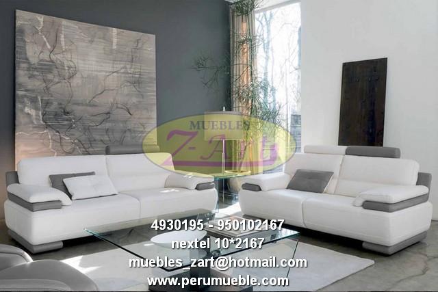 Juegos de muebles lineales modernos for Muebles de sala en oferta lima peru