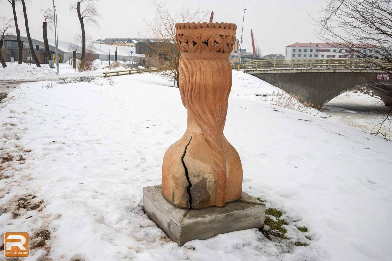 Šamota skulptūras Jelgava - 2