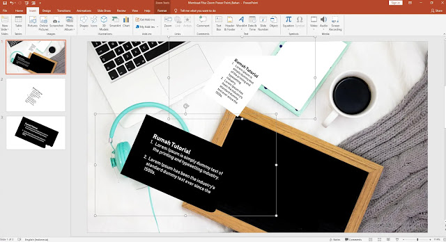 Fitur Zoom Di Powerpoint