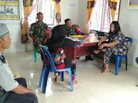 Babinsa Koramil 04/Talawi Hadir Ditengah-Tengah Warga Untuk Mendamaikan Perkelahian