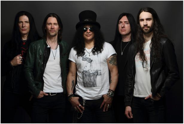 Vendas para turnê de Slash começam nessa sexta