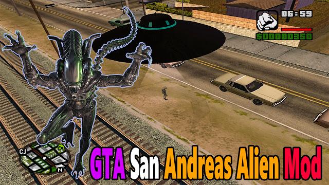 GTA San Andreas UFO Alien Mod Pc