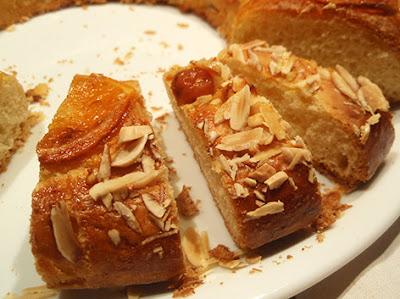 Roscón de Reyes casero sin mantequilla