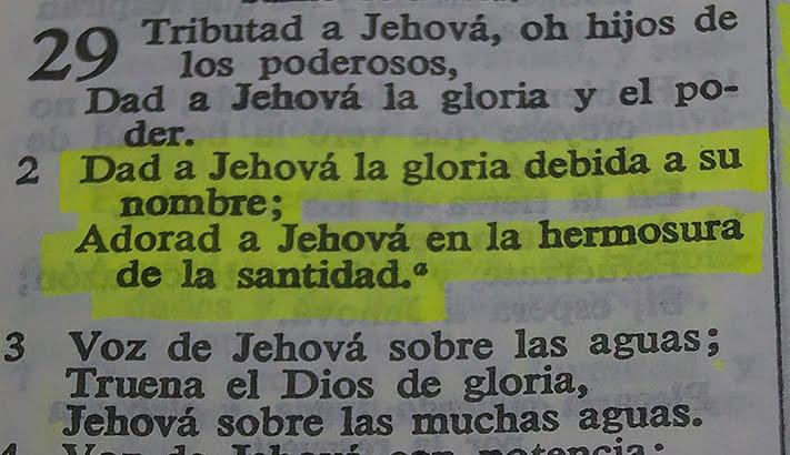 La gloria de Dios  Salmo%2B29