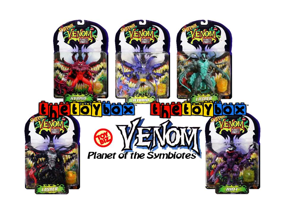 The Toy Box: Venom: Planet of the Symbiotes and Venom ...