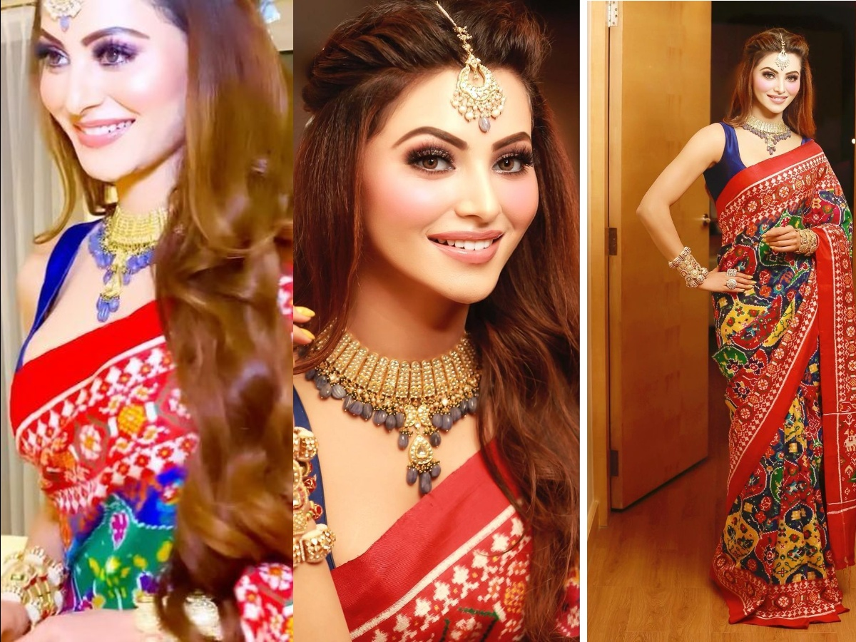 VIRAL PICTURES! Urvashi Rautela traditional look worth WHOPPING Rs 58 lakh will leave you in awe