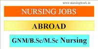 Nursing Jobs abroad
