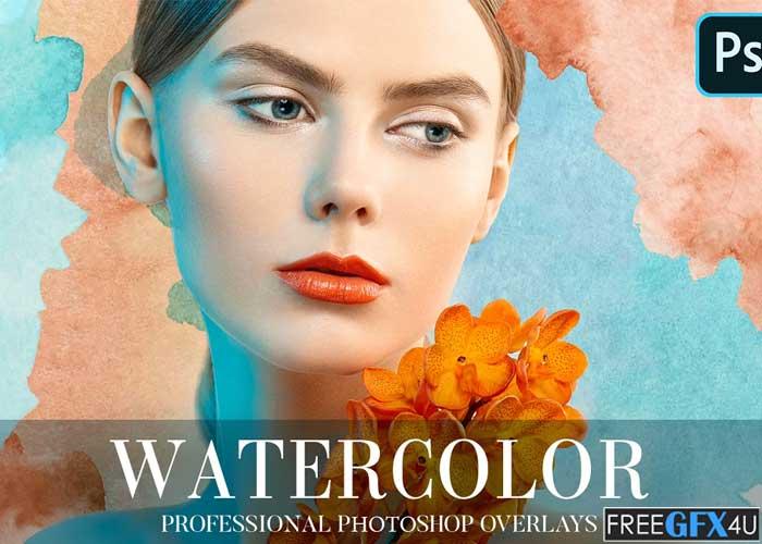 Watercolor Overlays Photoshop