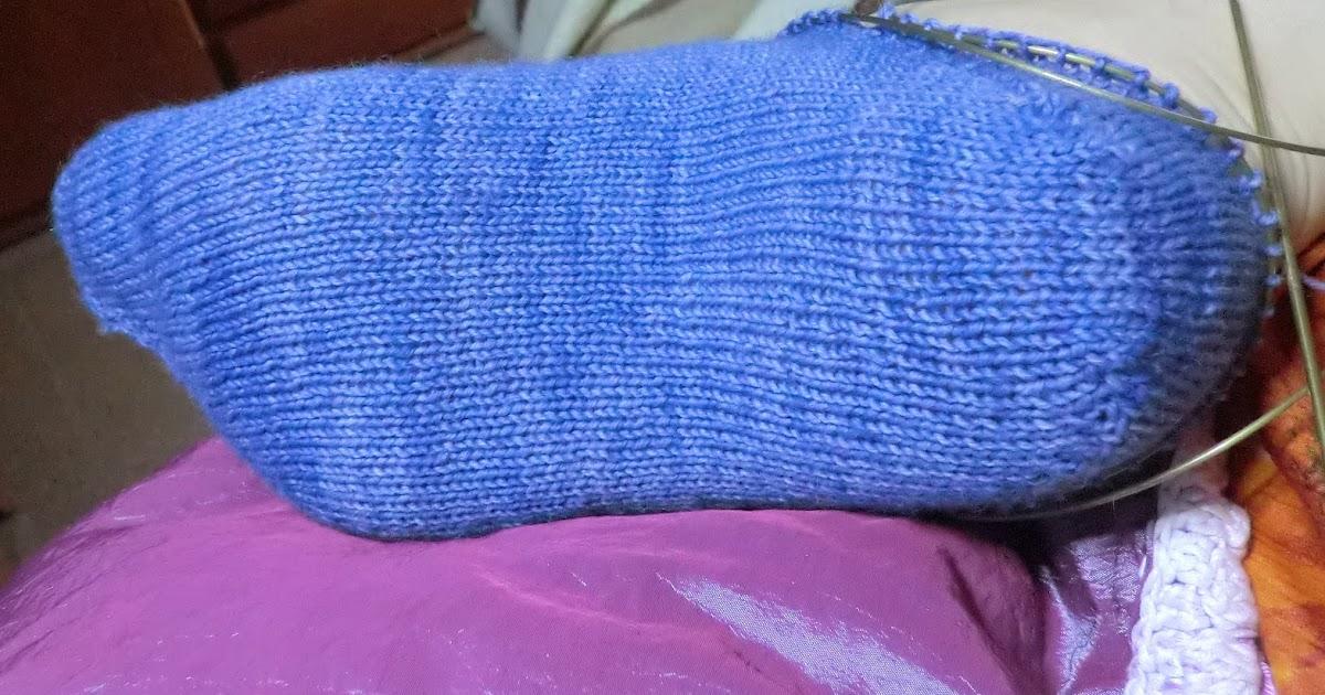 El món de Rosalía: Anatomía de un calcetín: segunda parte , el talón.