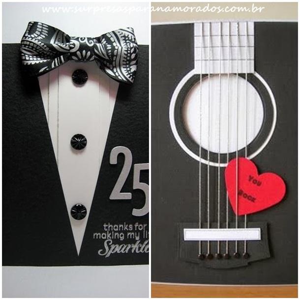 cartão violão