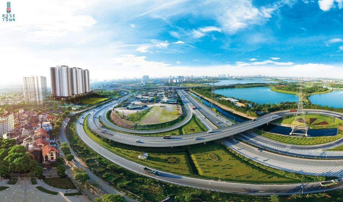 Hạ tầng giao thông phát triển quận Hoàng Mai