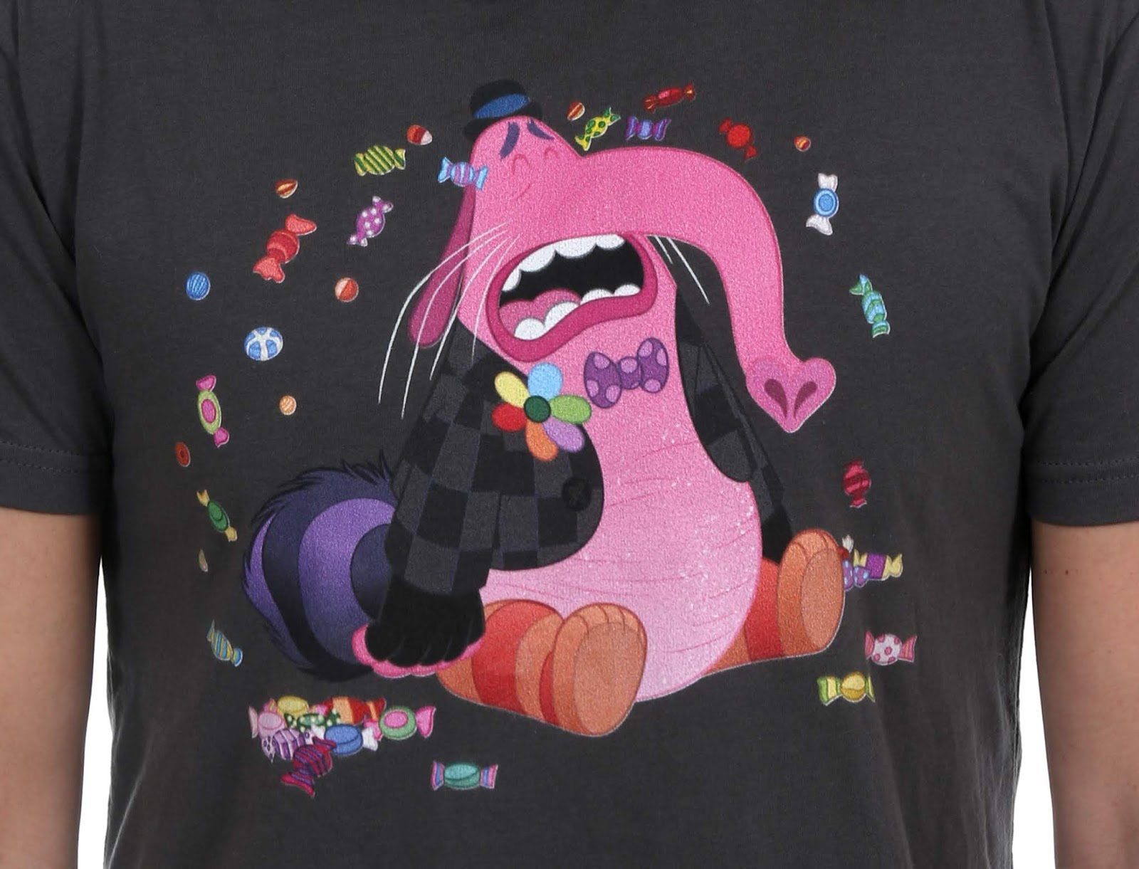 inside out bing bong cry candy shirt
